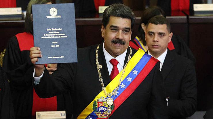 Inaugurace prezidenta Venezuely Nicoláse Madura; Foto: Presidencia Salvador / Wikimedia Commons