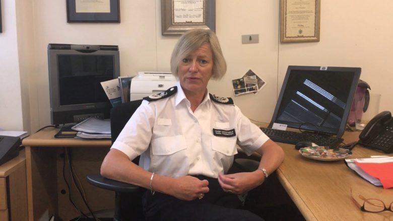 Sara Thorntonová, šéfka britské Národní rady náčelníků policie; Reprofoto: YouTube.com