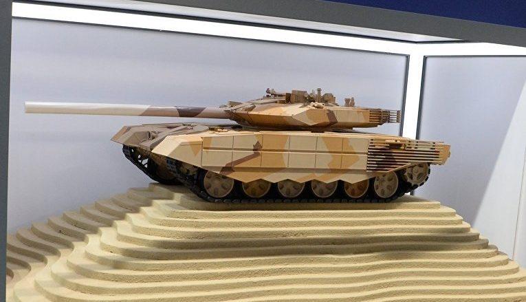 Nové provedení ruského tanku T-90M; Foto: RIA Novosti
