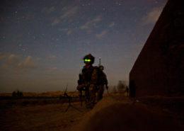 Noční akce proti bojovníkům Tálibánu; Foto: PFC Codie Mendenhall / Wikimedia Commons