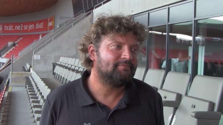Bývalý ministr dopravy za ODS a kontroverzní podnikatel Aleš Řebíček; Reprofoto: YouTube.com