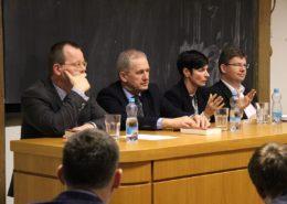 Jan Lata, Josef Baxa, Lenka Bradáčová a Jiří Pospíšil; Foto: Přemysl Otakar / Wikimedia Commons