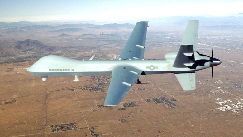 Americký vojenský dron MQ-9 Reaper; Foto: US Air Force / Wikimedia Commons
