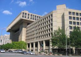 Sídlo Federálního úřadu pro vyšetřování (FBI) ve Washingtonu, DC ve Spojených státech; Foto: Aude / Wikimedia Commons