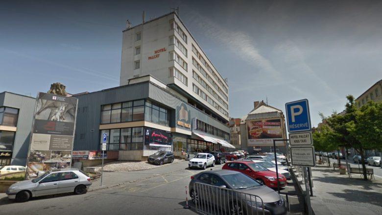 Hotel Palcát v Táboře; Foto: Google Street View