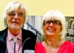 Profesor Jaroslav Šesták s manželkou; Foto:  Západočeská univerzita v Plzni