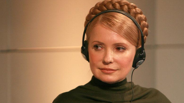 Bývalá ukrajinská předsedkyně vlády Julia Tymošenková; Foto:  Harald Dettenborn / Wikimedia Commons
