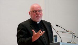 Německý kardinál Reinhard Marx; Foto: Univerzita Salcburk / Wikimedia Commons