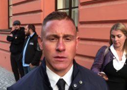 Policista Šimon Vaic; Reprofoto: YouTube.com