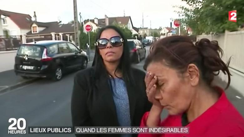 Aktivistky Aziza Sayah a Nadia Remadna; Reprofoto: televize France 2