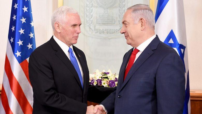 Izraelský ministerský předseda Benjamin Netanjahu a americký viceprezident Mike Pence; Foto: Velvyslanectví USA v Izraeli / Wikimedia Commons