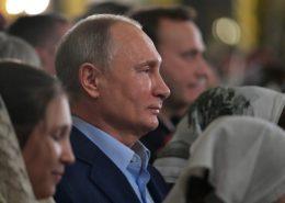 Ruský prezident Vladimir Putin; Foto: Ruská prezidentská tisková a informační kancelář / Wikimedia Commons