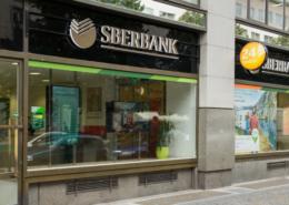 Pobočka Sberbank v Praze v ulici Na Příkopě; Foto: Sberbank