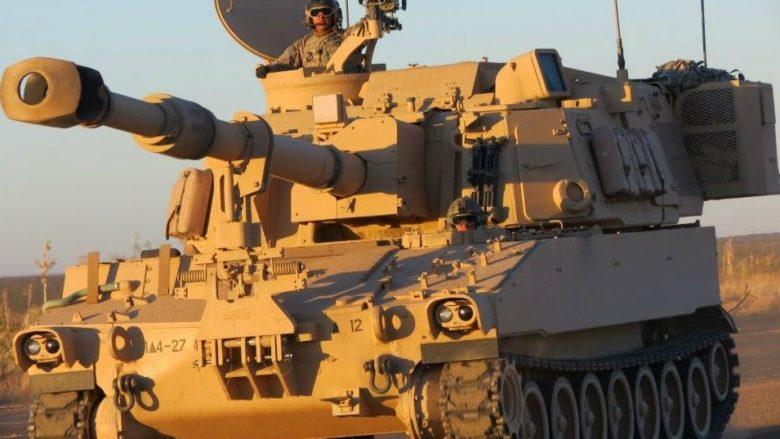 Samohybná houfnice M109a6 americké armády; Foto: Ministerstvo obrany USA / Wikimedia Commons