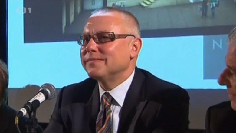 Zdeněk Bakala; Reprofoto: Česká televize