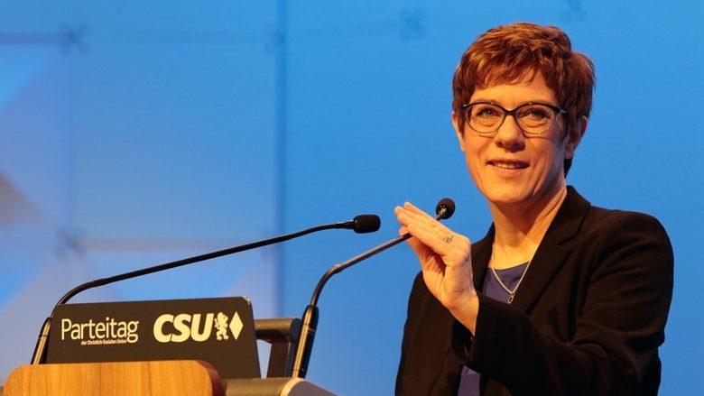 Předsedkyně CDU Annegret Krampová-Karrenbauerová; Foto: Patrick Büttgen / Wikimedia Commons
