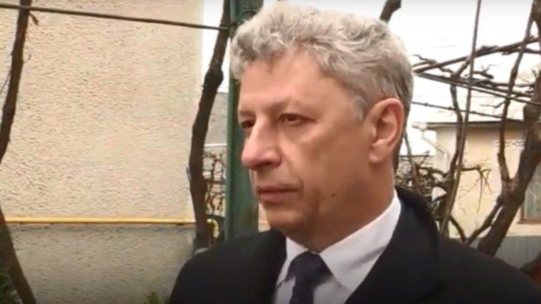 Ukrajinský poslanec Jurij Bojko; Reprofoto: newsone.ua