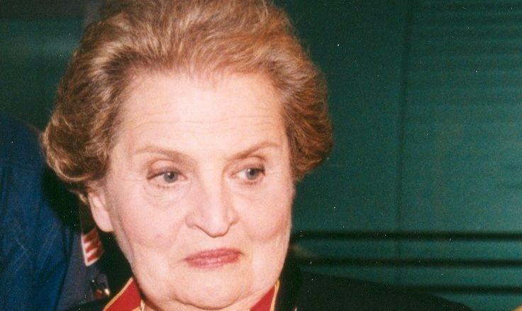 Bývalá ministryně zahraničí USA Madeleine Albrightová; Foto: NASA / Wikimedia Commons