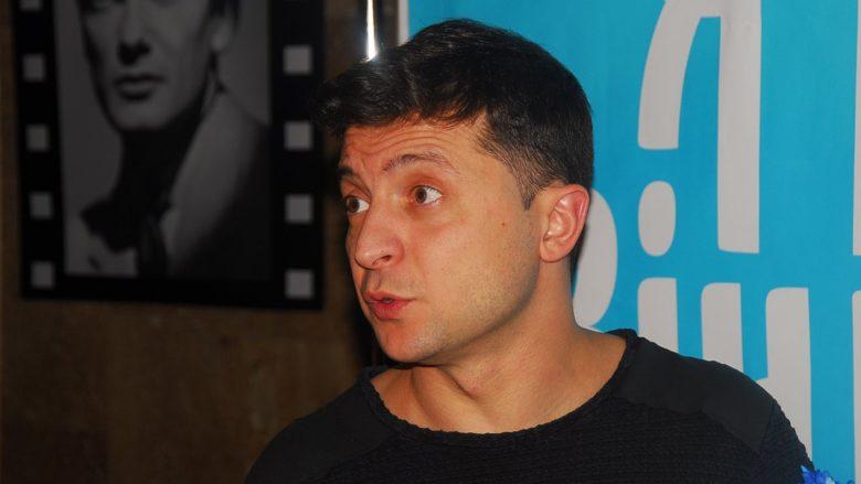 Ukrajinský komik a kandidát na prezidenta Volodymyr Zelenskyj; Foto: Максим Стоялов / Wikimedia Commons