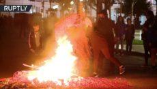 VIDEO: Argentinské ženy protestovaly proti zločinům církve