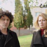 VIDEO: Slovenské prezidentské kandidátce Zuzaně Čaputové pomáhá v kampani bratr mafiána Kočnera