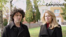 VIDEO: Slovenské prezidentské kandidátce Zuzaně Čaputové pomáhá v kampani bratr mafiána Kočnera podezřelého z objednávky vraždy novináře Kuciaka