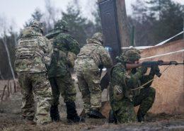Ukrajinští vojáci; Foto: Sgt. Anthony Jones / Wikimedia Commons