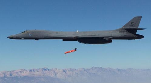 Americký bombardér B-1B; Foto: USAF / Wikimedia Commons