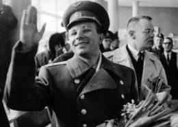 První kosmonaut na světě Jurij Gagarin; Foto: Archiv: Sydsvenskan / Wikimedia Commons
