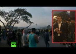 ŽIVĚ/VIDEO: Ve Venezuele dochází k pokusu o vojenský převrat