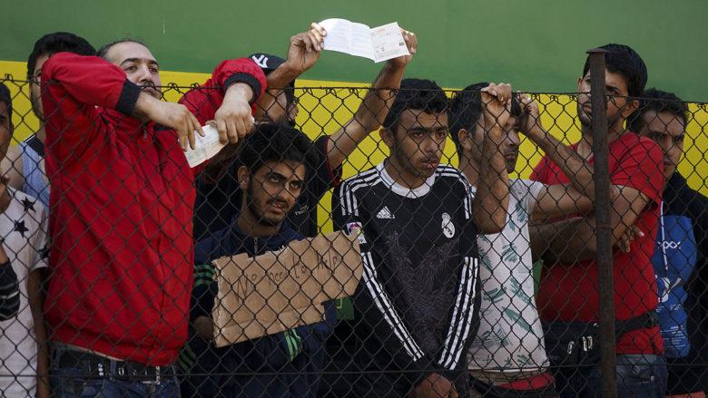 Syrští uprchlíci; Foto: Mstyslav Chernov / Wikimedia Commons