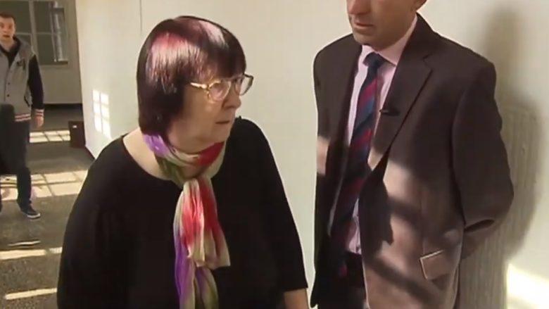 Kontroverzní soudkyně Helena Králová; Foto: repro Česká televize