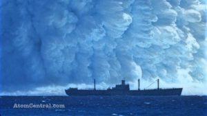 ŽIVÁ HISTORIE: Americké podvodní atomové testy Wahoo a Umbrella