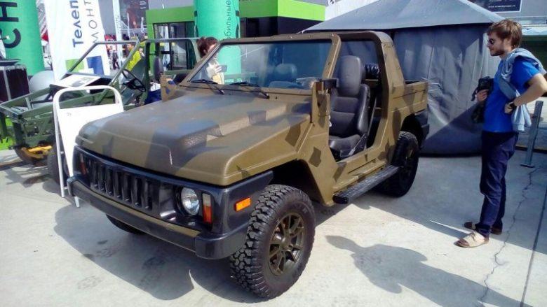 """Ruské vojenské vozidlo DSE-1700A """"Seržant""""; Foto: Prolog SCTC"""