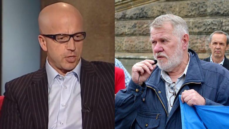 Bývalí europoslanci Pavel Telička a Jaromír Štětina; Foto: reprofoto YouTube, David Sedlecký / Wikimedia Commons