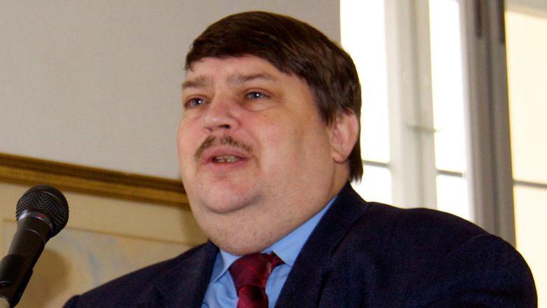 Vůdce Sudetoněmeckého krajanského sdružení Bernd Posselt; Foto: Mef.ellingen / Wikimedia Commons