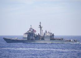 Křižník Chancellorsville; Foto: Naval Surface Warriors / Wikimedia Commons