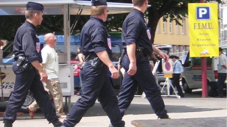Francouzská policie; Foto: Nicolas Bouillon / Wikimedia Commons
