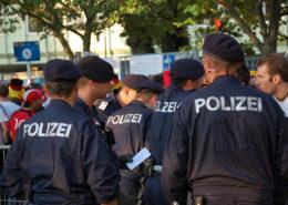 Německá policie; Foto: Wikimedia Commons