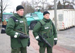 Německá policie; Foto: Alexander Blum / Wikimedia Commons