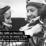 HISTORIE: Před 36 lety vystoupila do volného kosmu první žena na světě, Ruska Světlana Savická