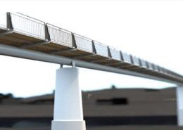 Vizualizace nové Trojské lávky; Foto: Praha sobě