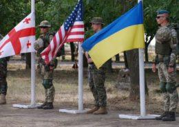 Vojenské cvičení na Ukrajině Sea Breeze 2019; Foto: Official web site of the MoD of Ukraine