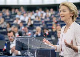 Předsedkyně Evropské komise Ursula von der Leyen; Foto: Evropský parlament / Wikimedia Commons