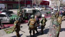 VIDEO: V Chile zasáhla policie proti studentům