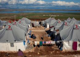Uprchlický tábor ve městě Adiyaman v Turecku; Foto: UNHCR