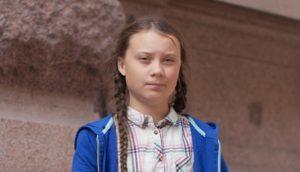 Greta Thunbergová; Foto: Anders Hellberg / Wikimedia Commons