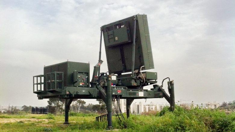 Radar Elta EL / M-2084 používaný raketovým systémem Iron-Dome; Foto: Natan Flayer / Wikimedia Commons