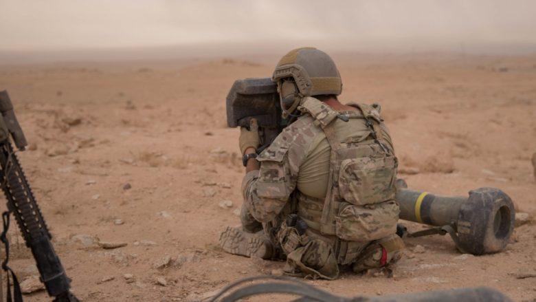 Americký voják v Sýrii; Foto: Sgt. Matthew Crane / Wikimedia Commons