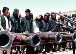 Bojovníci islámského státu; Foto: Mirwais Bezhan (VOA) / Wikimedia Commons